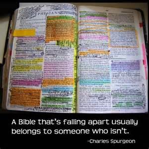Falling apart bible