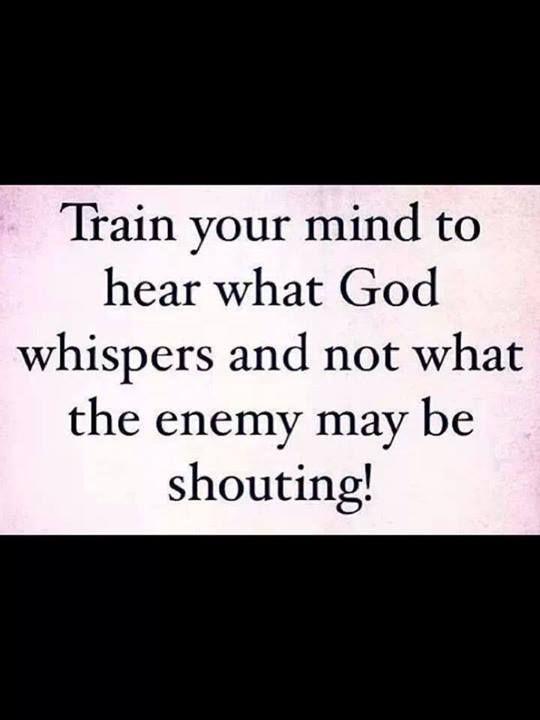 God whisper