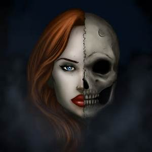 Two faced woman
