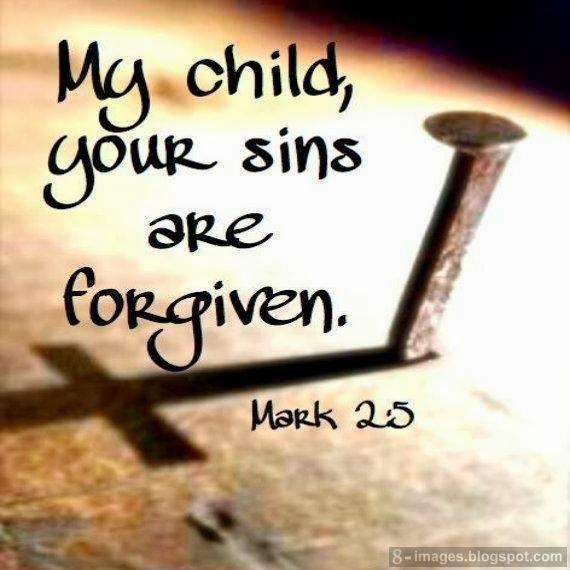 forgiven with nail