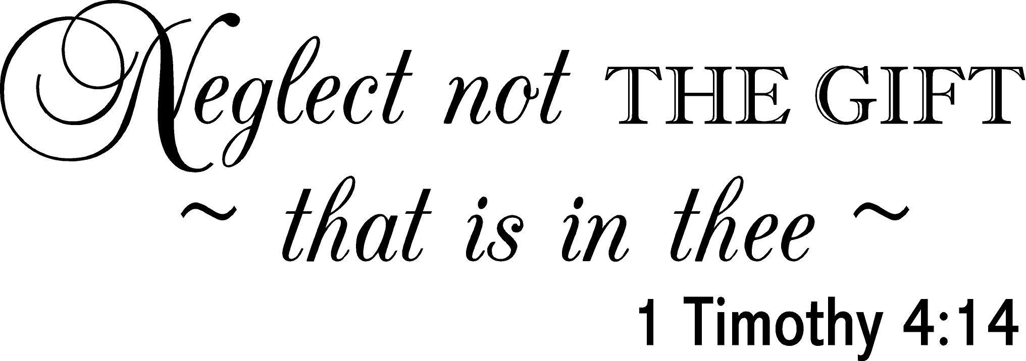 1 Timothy 4 14