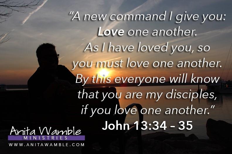 John 13 34 - 35