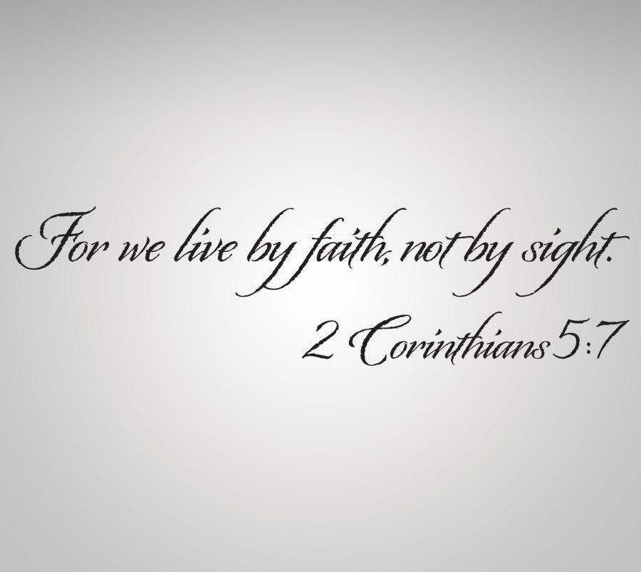 II Corinthians 5 7