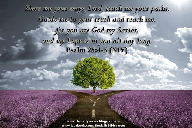 Psalm-25 4-5