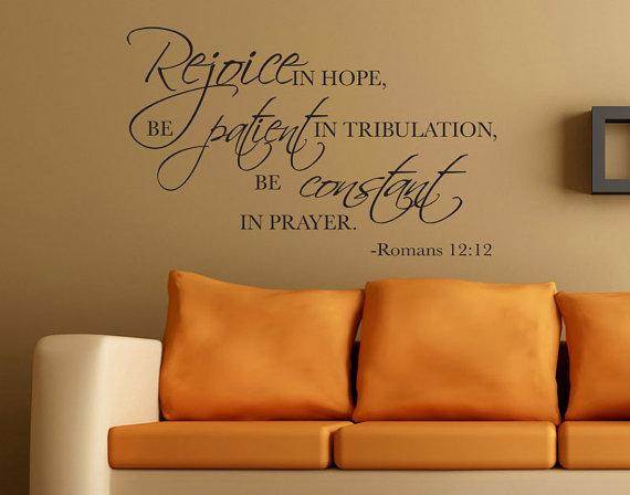 Romans 12 12