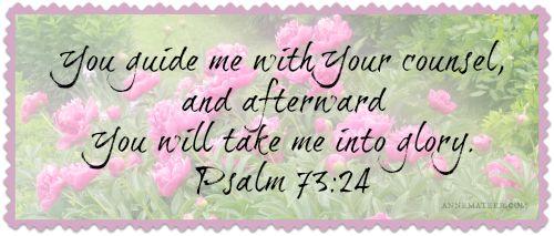 Psalm 73 24